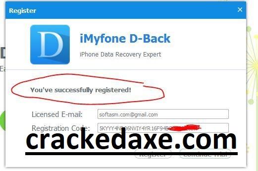 Imyfone D Back 7 8 0 Crack Plus Keygen Full Free Download